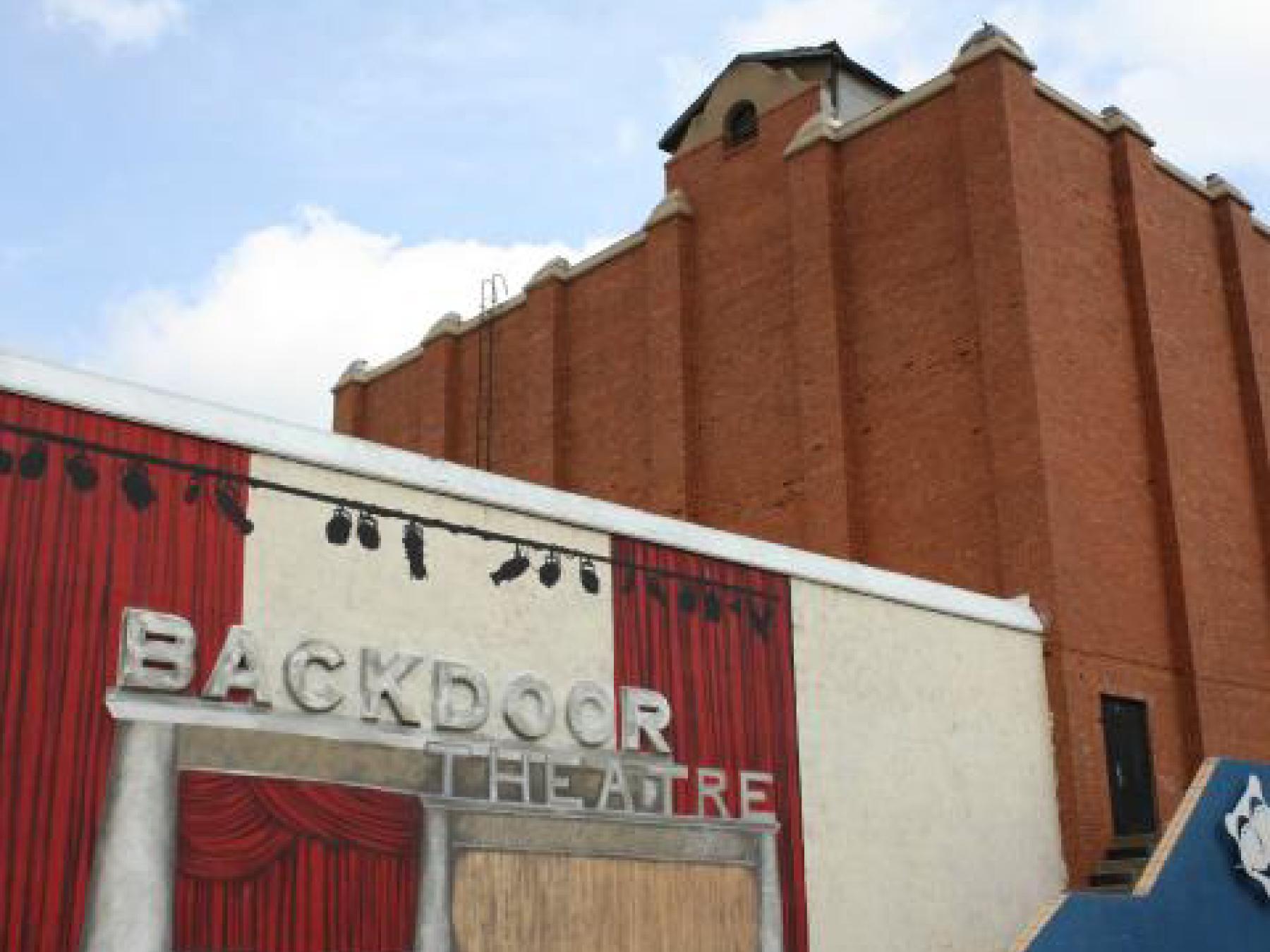 bistro express Wichita Falls backdoor theater